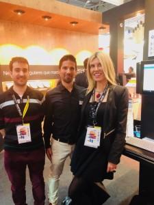 J M Garcia, COO de Bithpy. Ester Roura, socia fundadora de GlobalFinanzia.