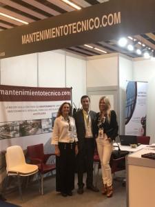 Jordi Bisbe, Director General de Mantenimiento Técnico. Ester Roura, socia fundadora de GlobalFinanzia