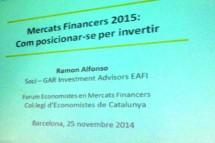 Mercats Financers 2015