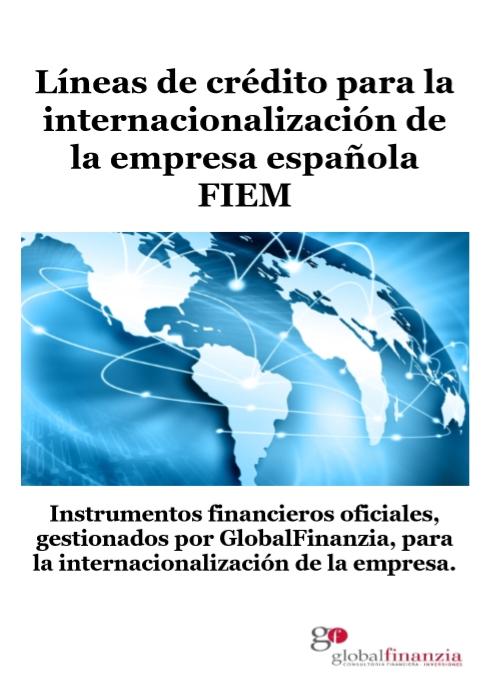 Lñineas de credito para la internacionalizacion